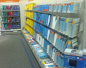 Inkjet paper - Paper for inkjet and laser printers in a store.
