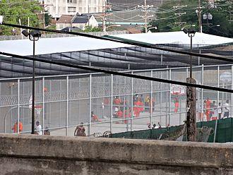 Prisoner - Inmates in a prison yard