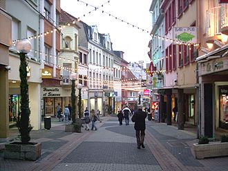 Forbach - Image: Innenstadt Forbach 2