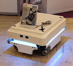 Innorobo 2015 - Mobile Industrial Robots - MiR100.JPG