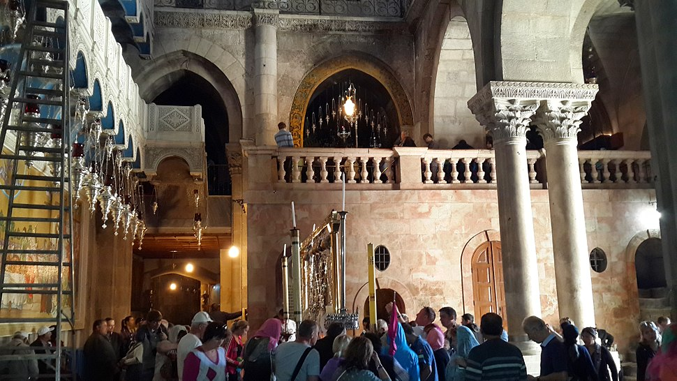 Inside the Church of the Holy Sepulchre - 21