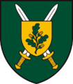 Insignia of the Lithuanian Land Forces Juozas Lukša Training Center.png