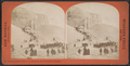 Instantaneous View of ice mountain and ice bridge, Niagara, by Barker, George, 1844-1894.png