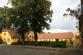 Rolighed (Frederiksberg) - The adjacent farm buildings