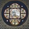 interieur, glas in loodraam (st. agnes van heilsbach) - 20000662 - rce