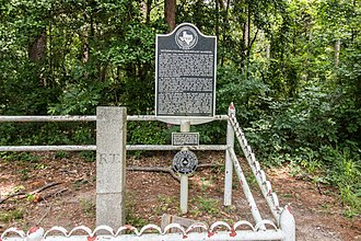 National Register of Historic Places listings in DeSoto Parish, Louisiana - Image: International Boundary Marker (1 of 1)