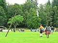 Inveraray Highland Games - Tossing the Caber (3) - geograph.org.uk - 981281.jpg