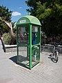 Invitel phone booth, 2018 Ráckeve.jpg