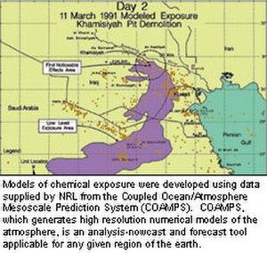 Gulf War syndrome - Image: Iraq gwi map