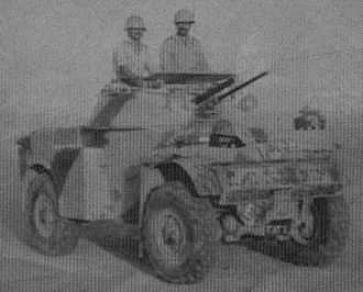 Iraqi Army - Iraqi Army Panhard AML-60 armored car, 1970s. Iraq ordered about 250 of these vehicles between 1968 and 1976.