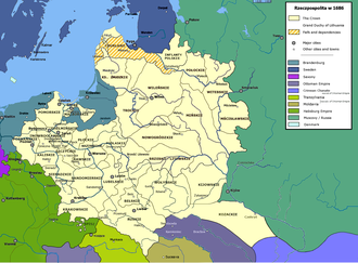Treaty of Perpetual Peace (1686) - The Polish-Lithuanian Commonwealth after the 1686 treaty
