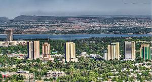 Исламабад: Islamabad skyline
