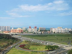 Skyline of Isla Verde, Carolina