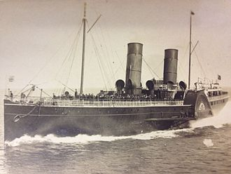 SS Queen Victoria (1887) - Image: Isle of Man Steam Packet Company paddle steamer Queen Victoria