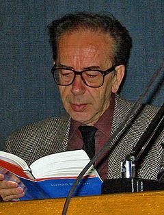 Ismail Kadare i Zürich 2002