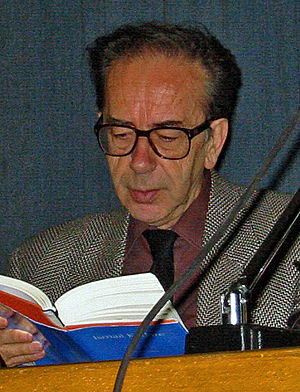Man Booker International Prize - Inaugural winner Ismail Kadare