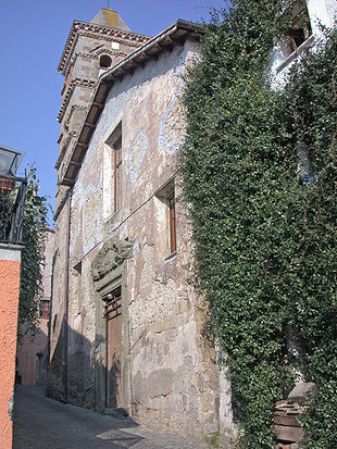 La chiesa di San Michele Arcangelo sulla via XX Settembre.