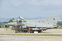 Eurofighter Typhoon del 37° Stormo dell'Aeronautica Militare alla base di Trapani