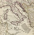 Italy. Herman Moll. The Turkish Empire in Europe, Asia and Africa. 1752 (cropped).jpg