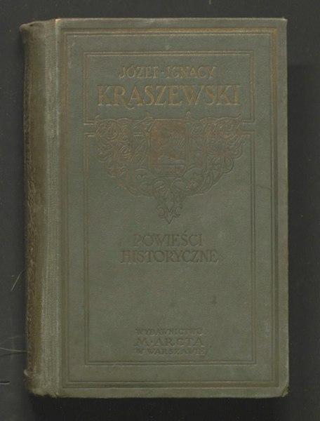 File:Józef Ignacy Kraszewski - Pod blachą.djvu
