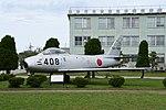 JASDF F-86F(52-7408) left front view at Komatsu Air Base September 17, 2018.jpg