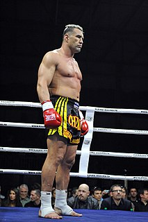 Jérôme Le Banner French kickboxer