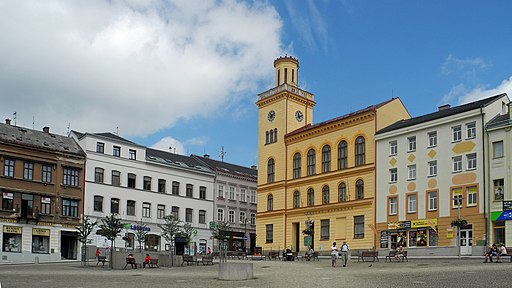 Altes Rathaus in Jablonec nad Nisou (Gablonz an der Neiße)