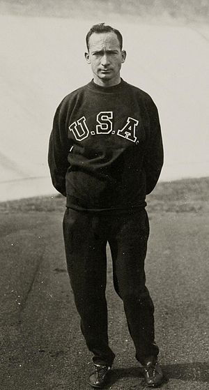 Jackson Scholz - Scholz at the 1928 Olympics