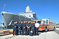 Jacksonville Fire Rescue Department visits USS New York 140117-N-GC472-306.jpg