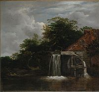 Jacob van Ruisdael - Watermill - NGV.jpg