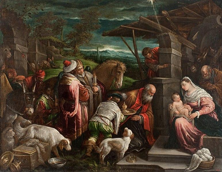 File Jacopo Bassano Il Vecchio Adoration Of The Magi