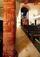 Jakob Wilhelm Fehrle stattete die Stadtkirche Kirchberg mit Keramikarbeiten im Jugendstil aus.jpg