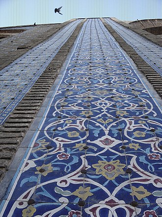 Jameh Mosque of Qazvin - Image: Jame qazvin