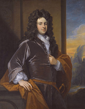 James Bertie, 1st Earl of Abingdon - The 1st Earl of Abingdon. (Godfrey Kneller)