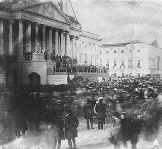 Inauguration of James Buchanan