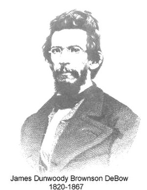 White Southerners - Fire Eater, publisher, and statistician, J. D. B. De Bow, was instrumental in the creation of a Southern identity in the years leading up to the American Civil War.
