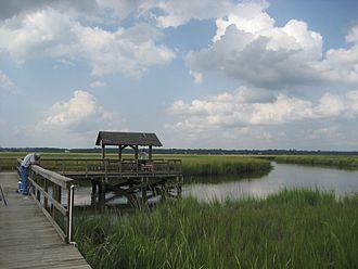 James Island, South Carolina - The marshes of James Island, SC