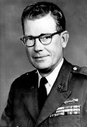 James L. Baldwin - Major General James L. Baldwin as commander of the 23rd (Americal) Infantry Division during the Vietnam War.