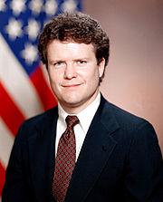 James Webb as Assistant Secretary of Defense, 1984.