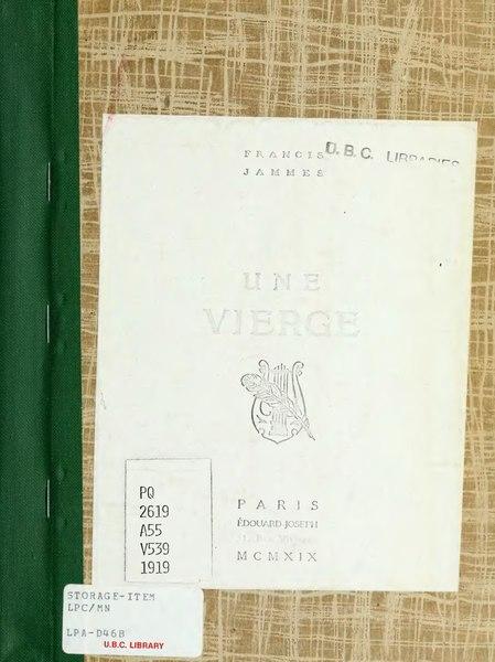 File:Jammes - Une vierge, 1919.djvu