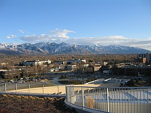 Wasatch Range - View of the Wasatch Range from the Salt Lake City Public Library