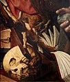 Jan Sanders van Hemessen. St Jerome (1543) — detail (27624868120).jpg