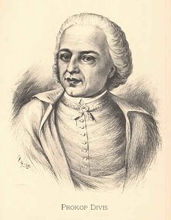 Prokop Diviš Czech physicist, inventor and roman catholic priest
