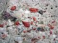Jasper-quartz pebble conglomerate (Lorrain Formation, Paleoproterozoic, ~2.3 Ga; Ottertail Lake Northeast roadcut, near Bruce Mines, Ontario, Canada) 80 (47709704851).jpg