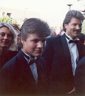 Jay R. Ferguson - Ferguson (left) and Dan Dillon at the 42nd Primetime Emmy Awards in September 1990