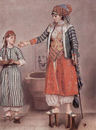 Musée d'Art et d'Histoire (Geneva) - Turkish Lady with Maid by Jean-Étienne Liotard.