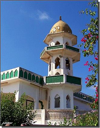 Job in Islam - Image: Jebel Qara moschea presso la tomba di Giobbe panoramio