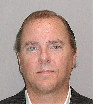 Mug shot of Jeffrey Skilling.