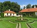 Jemniště Chateau, French garden.jpg