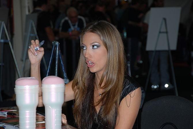 Jenna Haze at Exxxotica NY 2009